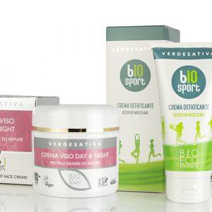 Organic Cosmetic with Hemp Oil
